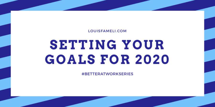 Setting Your Goals for 2020 image