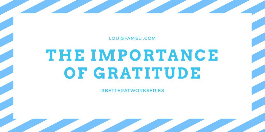 Image - The importance of gratitude